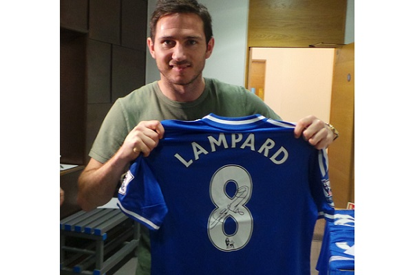 Frank Lampard signed match worn shirt from Premier League win over Everton  on February 22 02ade72fb